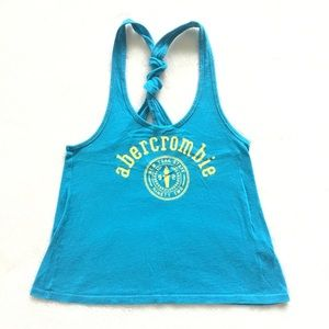 Lightweight turquoise cropped tank
